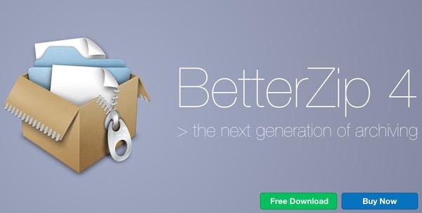 BetterZip 4.2.4.1466 闪退修复中文破解版 Mac 优秀压缩解压缩软件插图