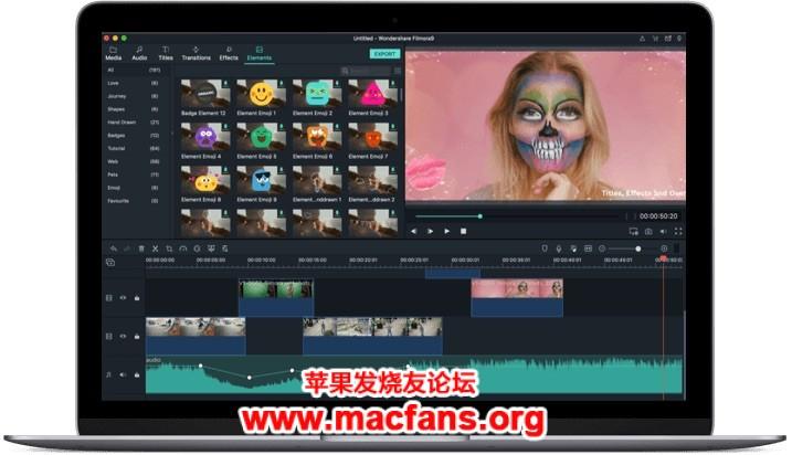 万兴神剪手 Wondershare Filmora 9.1.5.1 简体中文破解版插图