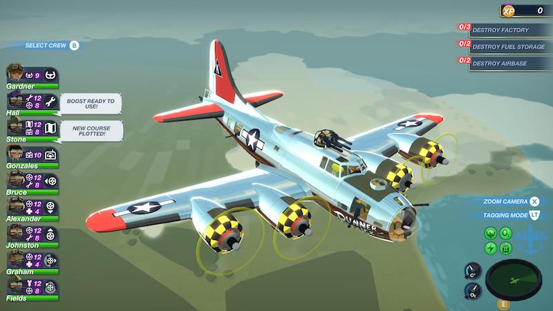 轰炸机小队 Bomber Crew 1.0 Mac 飞行游戏插图