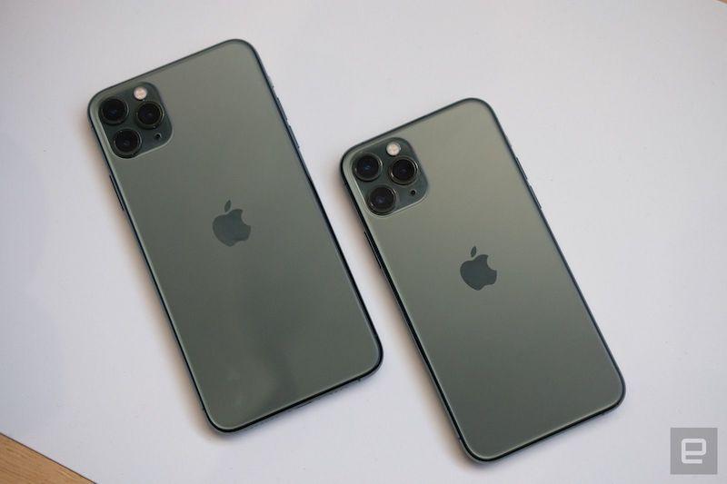 《iPhone 11 Pro、Pro Max  更多相机,更多趣味》