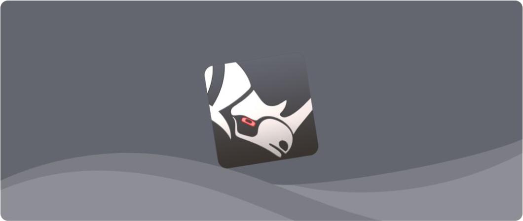 Ta来了!众所周知的 Mac 3D建模神器 Rhinoceros 犀牛!插图